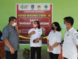 'Gebyar Vaksinasi Covid-19', LDII Jayapura Sukseskan Program Vaksin Nasional
