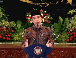 Pimpin Pray From Home, Jokowi Doakan Kesembuhan dari Paparan Covid-19