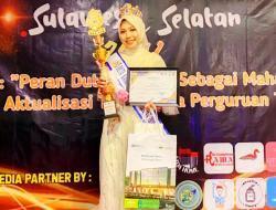 Juara Duta Kampus Tingkat Provinsi, Mahasiswi UMI Ini Wakili Sulsel ke Nasional