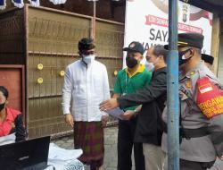 Tinjau Vaksinasi Kedua, Wali Kota Apresiasi Kolaborasi LDII dengan Polresta Denpasar