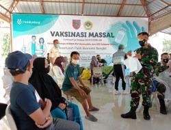 Sediakan 1.200 Dosis, LDII Sulsel Kerja Sama Kodam XIV Hasanuddin Gelar Vaksinasi Massal