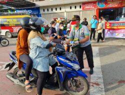 LDII Kerja Sama Binmas Manokwari Bagikan Masker Gratis