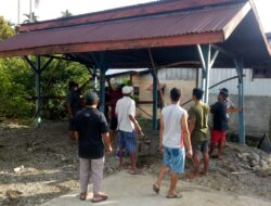 Kompak, Warga LDII Laksanakan Kerja Bakti di Kantor Kelurahan Bumiwonorejo