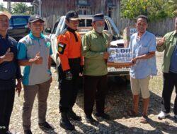 Senkom Rescue Nabire Ikuti Bakti Sosial Penyaluran Paket Sembako Bagi Warga Terdampak Banjir di Yaro