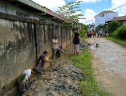 World Cleanup Day 2021, LDII Kota Sorong Gotong Royong Bersihkan Saluran Drainase