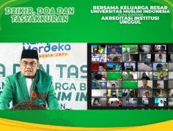 Pencerahan Qalbu Angkatan II 2021, Rektor: Mahasiswa UMI Harus Tampil Unggul