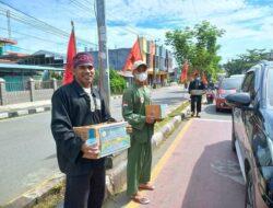 Bersama PSHT, Persinas ASAD Galang Dana Korban Kebakaran Komplek Borobudur Manokwari